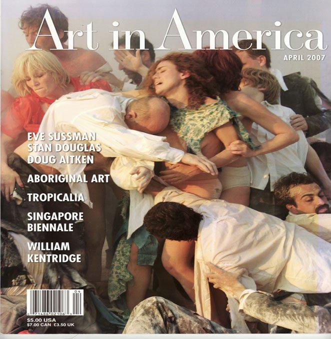 ART IN AMERICA  Eve Sussman Tropicalia Aboriginal Art Magazine Back Issue April 2007