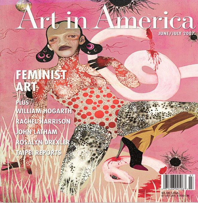 ART IN AMERICA Feminist Art  William Hogarth Rachel Harrison Magazine Back Issue April 2007