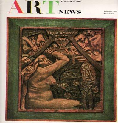 ARTnews Magazine February 1959 Gauguin Tura Copley Art Illustrations Articles Magazine Back Issue