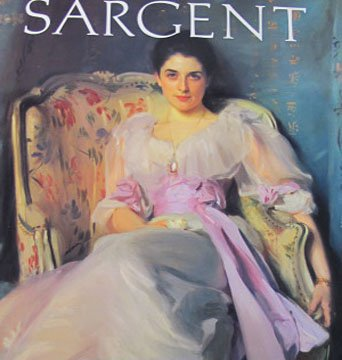John Singer Sargent by Carter Ratcliff Drawings Watercolors Oil Paintings Art Book Hardcover 1990