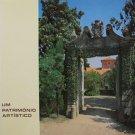 An Artistic Heritage by Teresa Martins de Carvalho Portuguese Art Paintings Sculptures1983 Hardcover