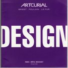 Artcurial Art Auction Catalog Design Modern and Contemporary Furniture Sottsass Paris Softcover 2003
