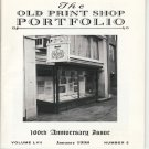 The Old Print Shop Portfolio 100th Anniversary Issue Catalog Softcover Volume LVII  Number 5 1998