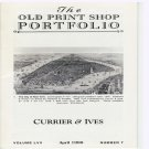 The Old Print Shop Portfolio Currier & Ives  Lithographs Catalog Softcover Volume LVII Number 7 1998