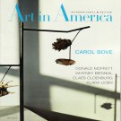 ART IN AMERICA Carol Bove Claes Oldenburg Klara Liden Magazine Back Issue May 2012