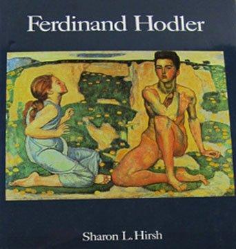 Ferdinand Hodler By Sharon L. Hirsh Swiss Painter Landscapes Portraits  Hardcover 1982