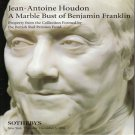 Sotheby's Jean-Antoine Houdon A Marble Bust of Benjamin Franklin Auction Catalog 1996