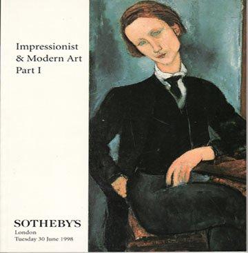 Sotheby's Impressionist & Modern Art Part I Miro Munch Monet Gauguin  London Catalog 1998