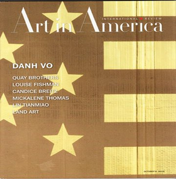 ART IN AMERICA Quay Brothers Louise Fishman Mickalene Thomas Magazine Back Issue October 2012