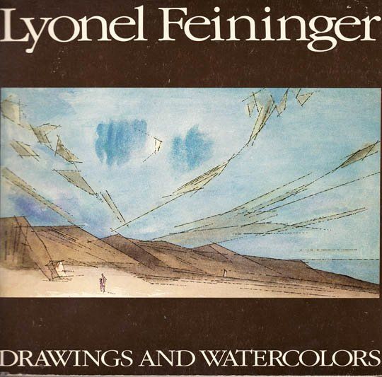 Lyonel Feininger Drawings and Watercolors Art Exhibition Catalog 1979 Softcover