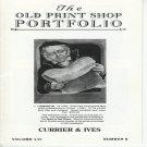 The Old Print Shop Portfolio Currier & Ives Volume LVI  Number 6  Lithographs Softcover