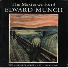 The Masterworks of Edvard Munch Exhibition Catalog MOMA 1979 Softcover