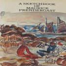A Sketchbook of Maurice Prendergast Color Drawings and Water Colors Hardcover 1974