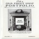 The Old Print Shop Portfolio Map Issue Volume LV Number 8 Softcover