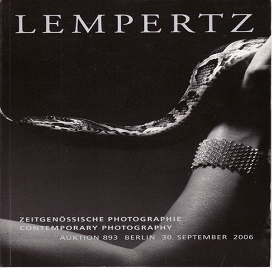 Lempertz  Contemporary Photography, Shirin Neshat, Auction Catalog 893 Berlin Softcover 2006