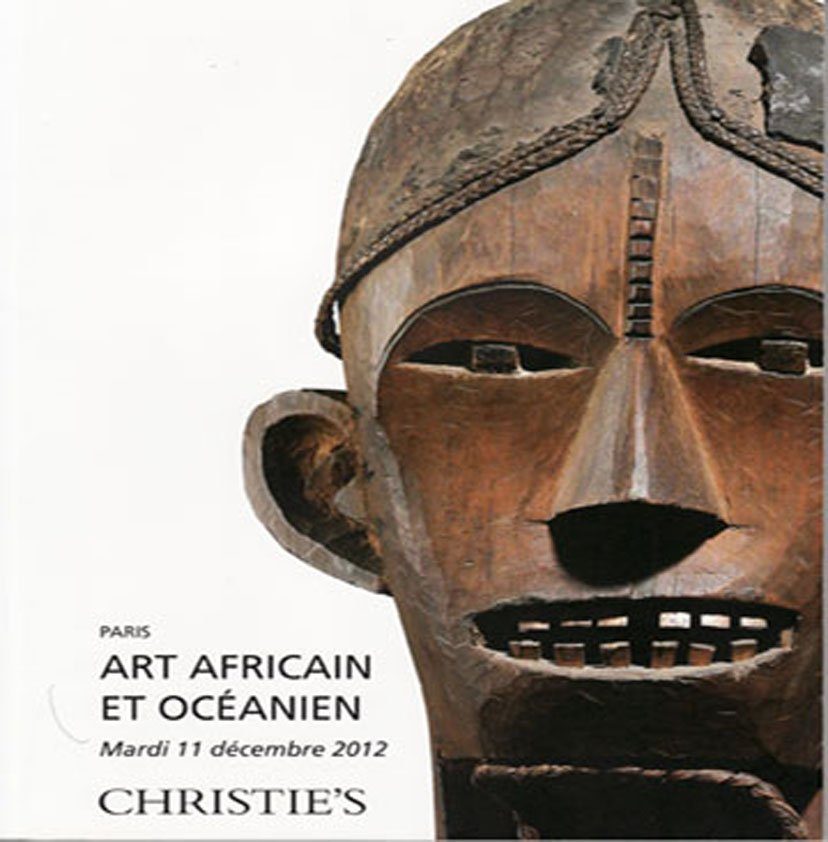 Christies African and Oceanic Art  Auction Catalog New Guinea Jolika Collection December 2012