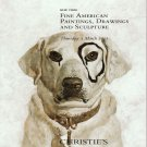 Christie's  Auction Catalog Fine American Paintings Drawings Sculpture New York October 2011
