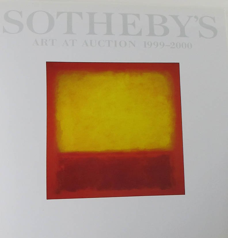 Sotheby's Art At Auction 1999-2000 Unique Art Findings Collections Auction 2000 Hardcover