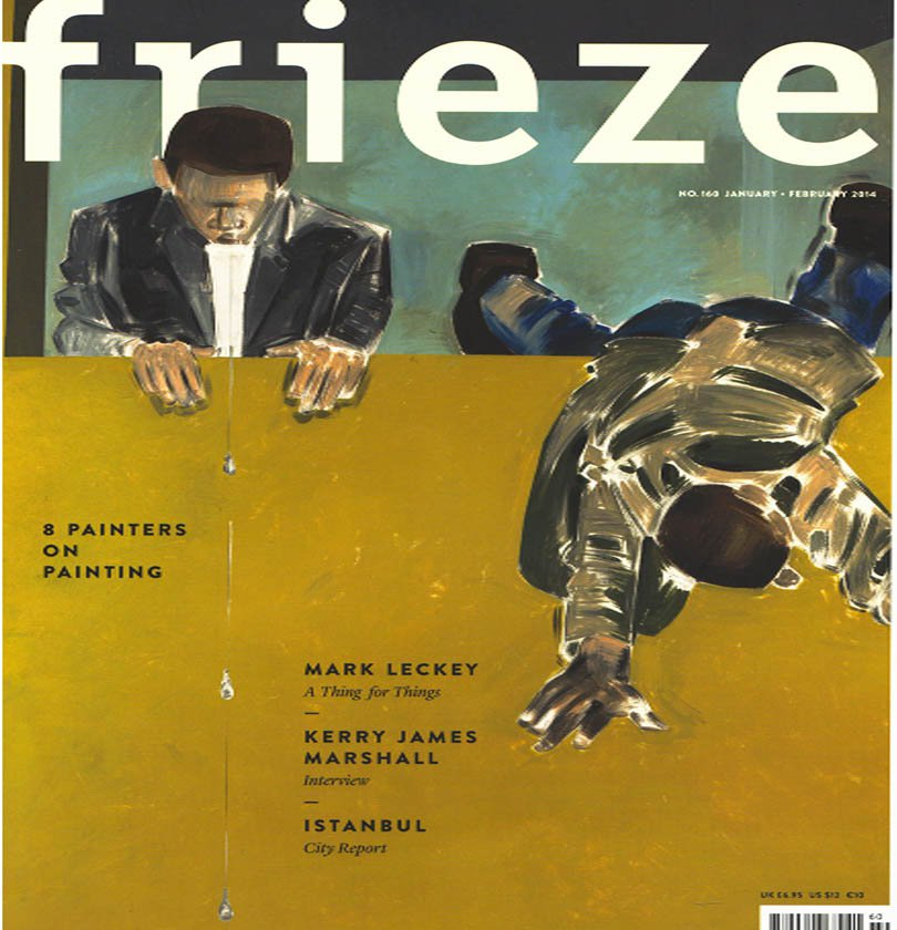 FRIEZE Contemporary Art Magazine Back Issue Painters on Painting January - February 2014