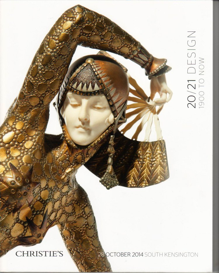 Christie's 20/21 Design 1900 To Now Auction Catalog Mid Century and Contemporary Design 2014