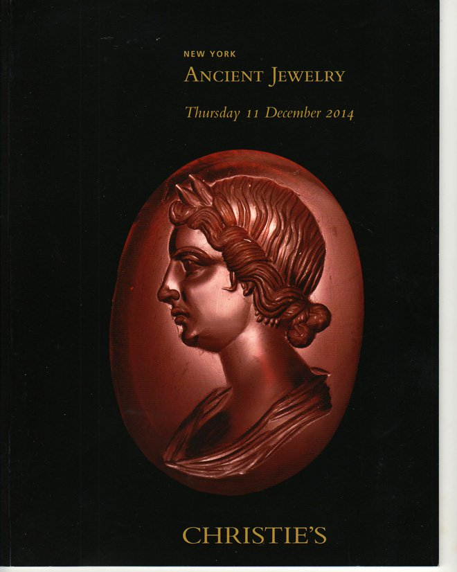 Christie's Ancient Jewelry Asiatic Egyptian and Greek Auction Catalog December 11, 2014 Softcover