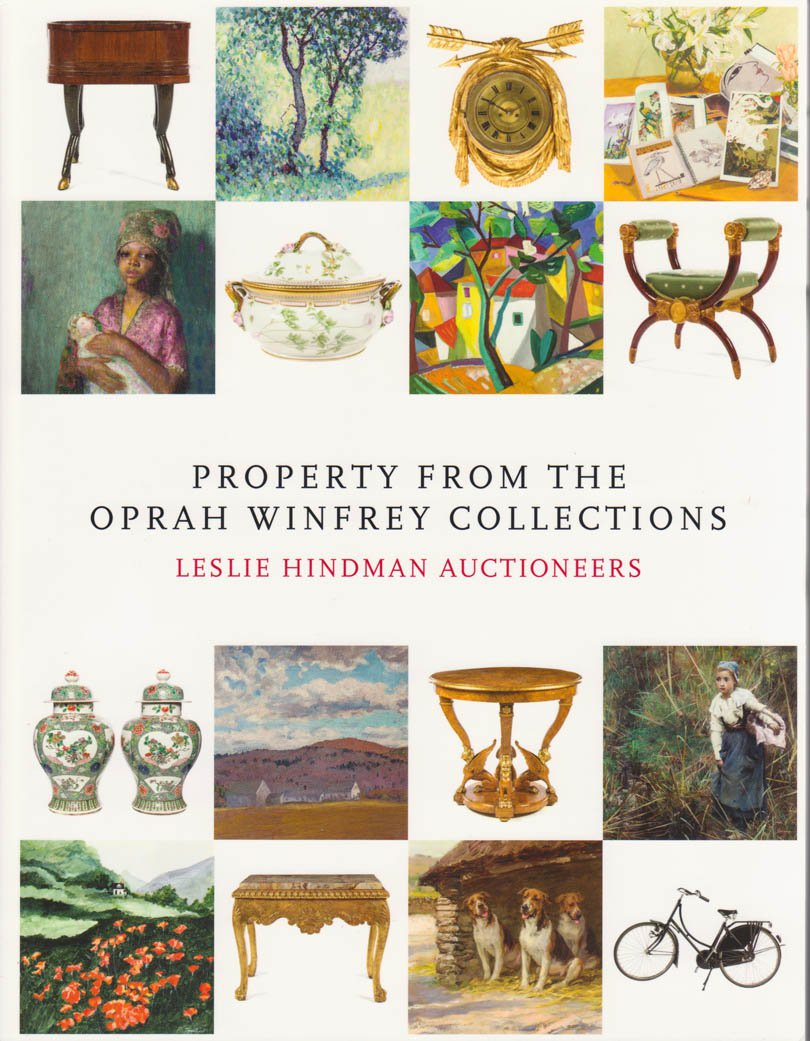 Property from the Oprah Winfrey Collections Leslie Hindman Auctioneers Catalog April 25, 2015