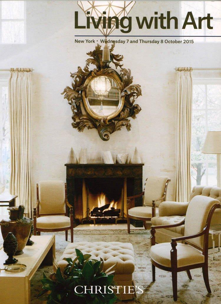 Christie's Living with Art Stephen Sills Interior Designer Auction Catalog October 2015
