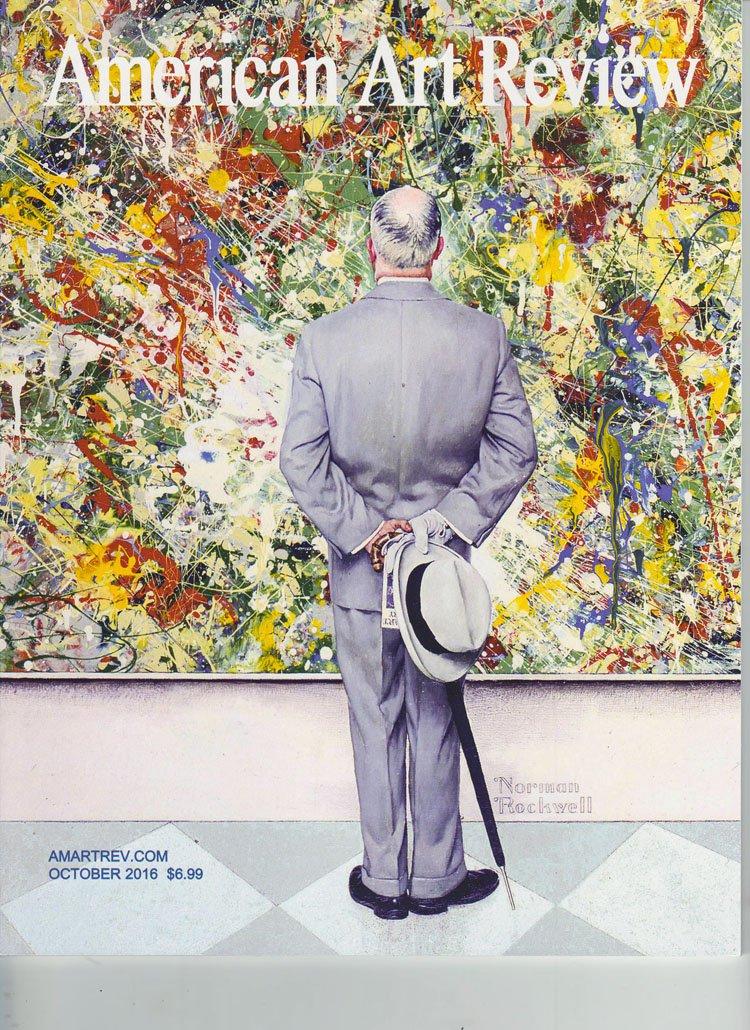 AMERICAN ART REVIEW Norman Rockwell September  October 2016 Art Magazine Back Issue