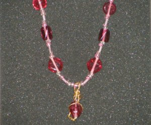 Handcrafted nugget necklace