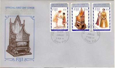 Fiji Silver Jubilee 1977 FDC