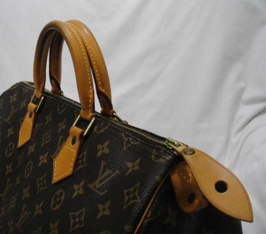 AUTHENTIC Pre Owned Louis Vuitton monogram SPEEDY 35