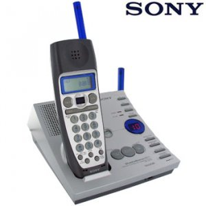 SONY® 2.4GHz CORDLESS PHONE / ANSWERING SYSTEM