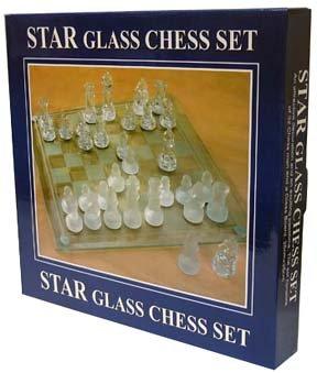 STAR GLASS CHESS SET