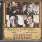 Old-time radio CD: Radio in that wonderful year 1944, w/Errol Flynn and others
