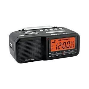SecureGuard AC Powered Midland Weather Clock Radio Spy Nanny Camera