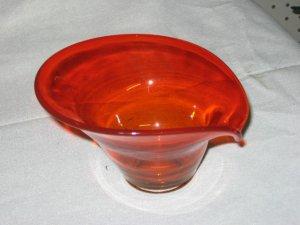 blown glass bowl