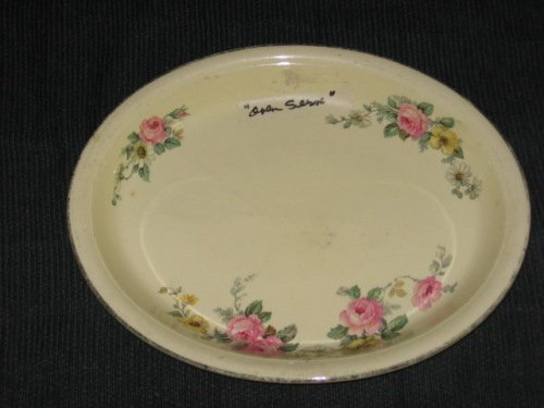 Oven Serve Platter Armand pattern by Homer Laughlin Co