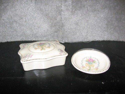 Trinket Box & Pin Dish