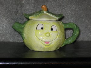 Comical Lemon Head Teapot