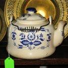 Blue Onion Teapot