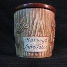 Harvey's Lake Tahoe  ceramic jar
