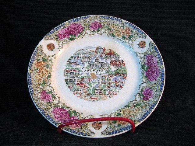 Georgia Souvenir Plate