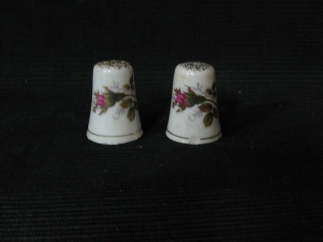 Thimble Size Salt & Pepper Shaker
