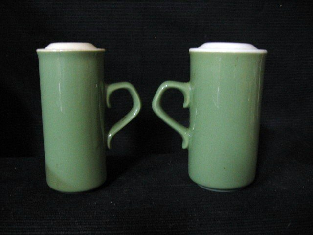 Ceramic Shakers with handle.