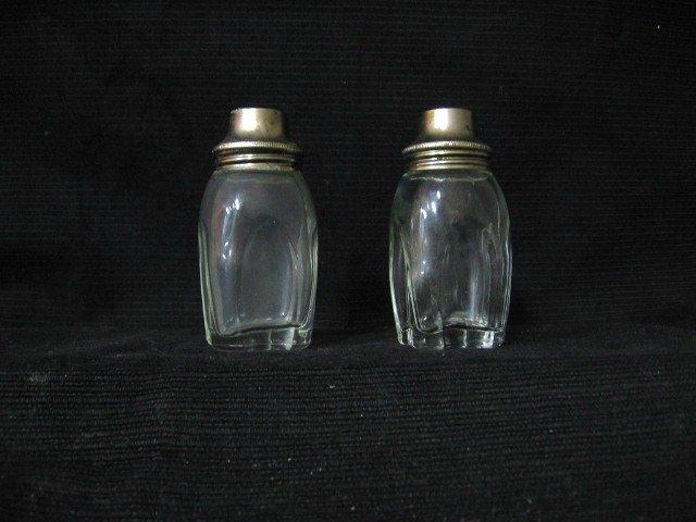 Clear Glass Salt & Pepper Shakers