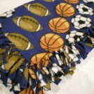 Large Sports Baby, Toddler, Kids Fleece Blanket