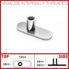 G5 Grade Solid Titanium Dermal Surface Anchor No Holes 16 Gauge Microdermal (SA01)