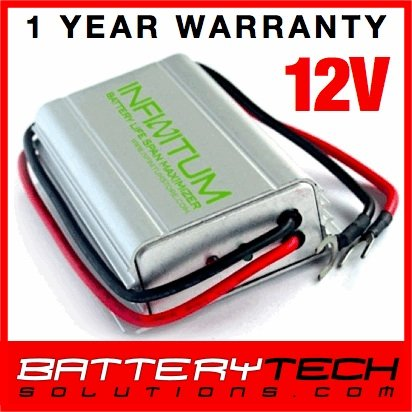Battery Desulphator Life Span Optimizer 12V Exide/Yuasa/Marshall/Century/Rocket/Apollo/General