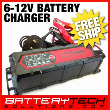 6V / 12V 4.5A Car/Automotive Battery Charger