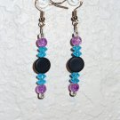 Earring - Purple/Blue/Black